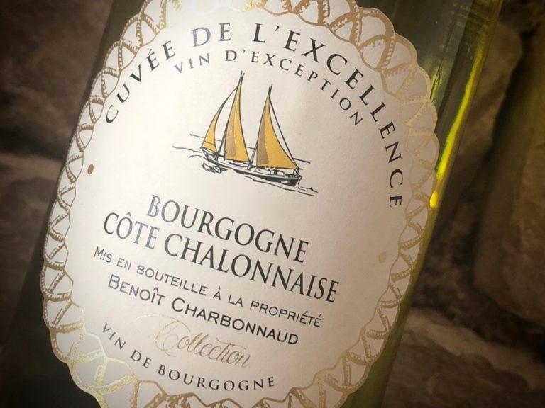 vin de Bourgogne Domaine Excellence Chardonnay Bourgogne Côte Chalonnaise Blanc vin blanc Benoit Charbonnaud Rully