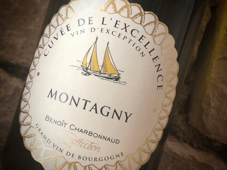 vin de Bourgogne Domaine Excellence Chardonnay Montagny vin blanc Benoit Charbonnaud Rully
