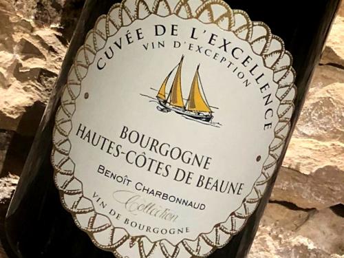 vin de Bourgogne Domaine Excellence Pinot Noir Bourgogne Hautes Côtes de Beaune Rouge vin rouge Benoit Charbonnaud Rully