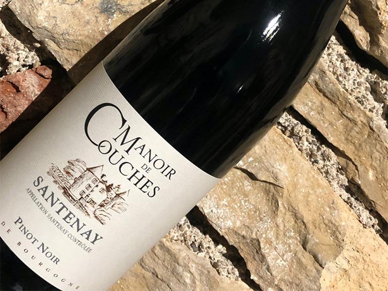 vin du couchois manoir de couches Santenay Rouge Côtes du Couchois vin rouge Benoit Charbonnaud Rully