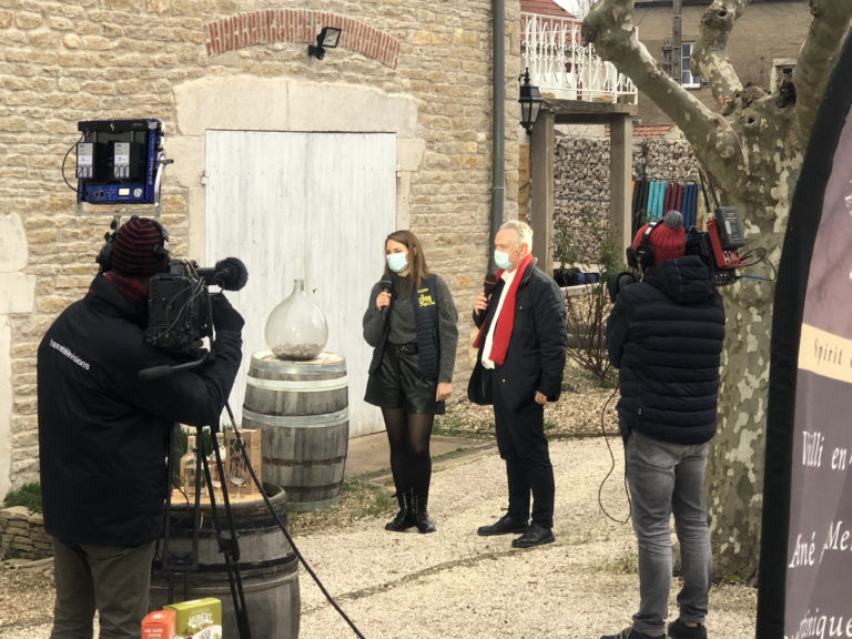 DOMAINE BENOIT CHARBONNAUD VINS RHUM DE BOURGOGNE FRANCE 3 BOURGOGNE FRANCHE COMTÉ REPORTAGE RULLY COTE CHALONNAISE